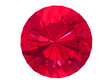 Rhodolite or Ruby gemstone