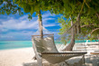 Fototapeten,stranden,hängematte,insel,palme