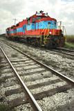 Electro-diesel locomotive poster
