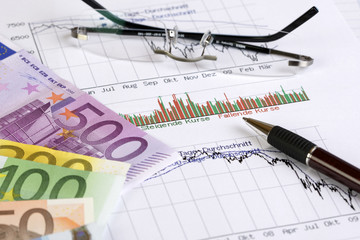 Geld, Finanzen, Börse - Money, finance, stock exchange