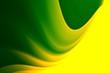 Leinwanddruck Bild - Green and yellow motive