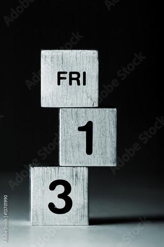 FRI-13 cubes