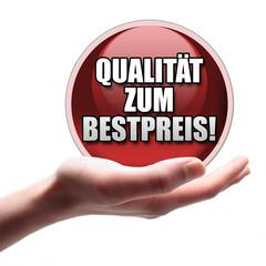 Qualität zum Bestpreis Button