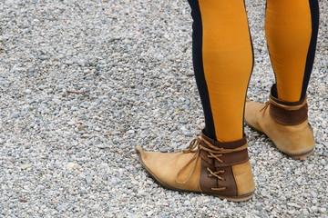 scarpe medievali