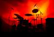 Leinwanddruck Bild - Drums In Lights 3