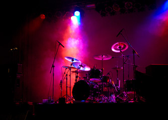 Drums In Lights