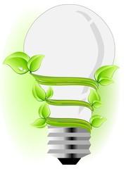 Ecology light bulb