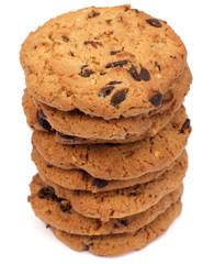 des cookies aux pépites de chocolat