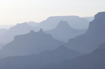 Colinas en el Gran Cañón