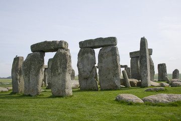 Spring at Stonehenge