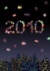 2010 night cityscape