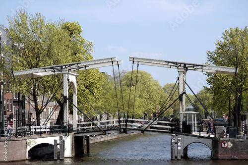 Magere Brug, vu de près, Amsterdam - 13717911