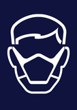 Construction Industry Safety Face Mask
