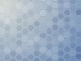 Hexagon grid wallpaper poster