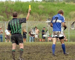 Gaelic Football Yellow Card