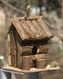 hut for birds