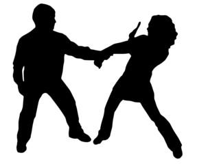 difesa personale 2 (vettoriale)