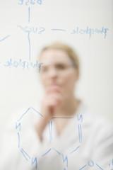 Pensive Scientist