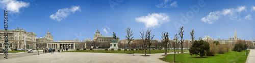 Hofburg Heldenplatz Pan