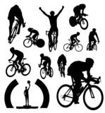 Fototapety Cyclists