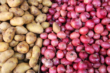 Potatos and onions