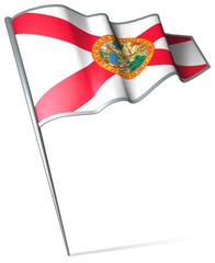 Flag pin - Florida (USA)