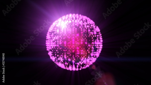 Abstract Discoball