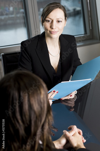 Job Interview with Smiles
