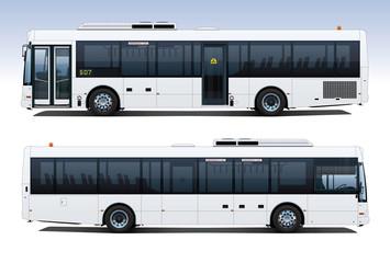 City Bus Side Profiles