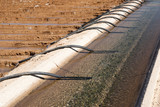 irrigation canal & siphon tubes poster