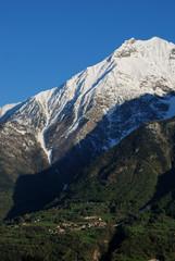 Villaggio alpino in Valle d'Aosta - Alpine village in Italy