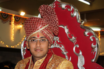Indian Groom Tradition