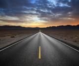 Fototapety Desert Highway