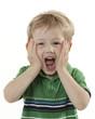Frightened Boy