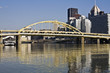 Downtown Pittsburgh accoss the river