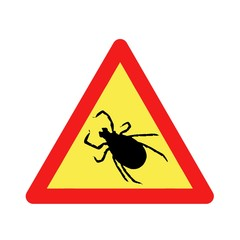 warning before ticks