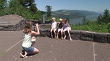 Family Portrait along the Columbia River Gorge poster