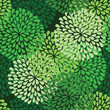 roleta: seamless green pattern in vector