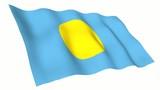 Palau Animated Flag poster
