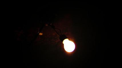 Shaking light bulb