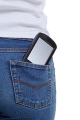 Smartphone jeans pocket