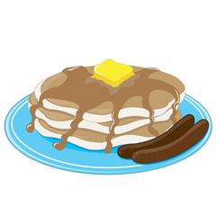 Pancakes Sausage