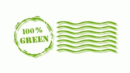 100 GREEN