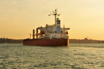 ship in Bosporus, Istanbul