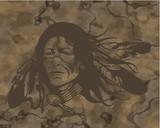 apache fondo poster