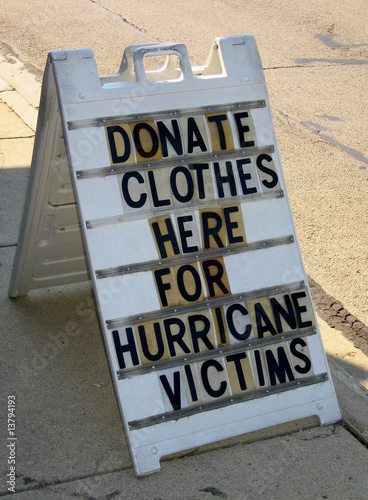 Help Hurricane Victims