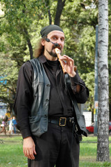 Vagrant musician
