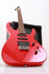 Abstract guitar theme