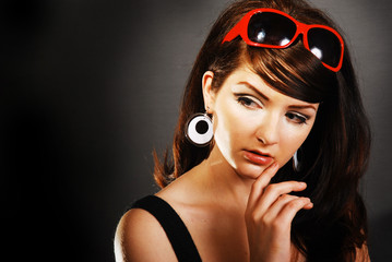 Attractive / Funky 60's Retro Woman