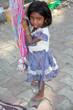 Sad Girl in Poverty